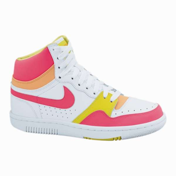 Кеды Nike wmns Court Force High white/solar red 407872-115